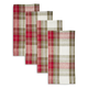 Holiday Plaid Napkins, Set of 4