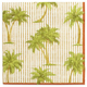 Golden Palms Paper Cocktail Napkins