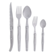 Dubost Stainless Steel Laguiole Flatware, Set of 20