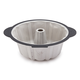 Trudeau Structure Silicone Pro Fluted Cake Pan, 10 cups