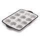 Trudeau Structure Silicone Pro Standard Muffin Pan, 12 Cavity