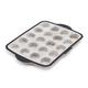Trudeau Structure Silicone Pro Mini Muffin Pan, 20 count