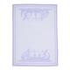 Purple Bunny Jacquard Towel, 27.5