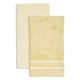 Yellow Bunny Jacquard Towels, Set of 2