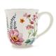 Garden Floral Mug, 16 oz.