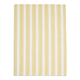 Yellow Striped Kitchen Towel, 28
