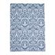 Blue Damask Jacquard Kitchen Towel, 28