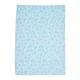 Blue Floral Jacquard Kitchen Towel, 28