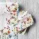 Floral Napkins, Set of 4
