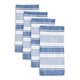 Blue Striped Napkins, Set of 4