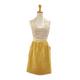 Yellow Lace Apron