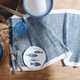 Blue Chalk Table Runner, 108