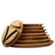 Enclume Handcrafted 8-Tier Alder Shelf Set