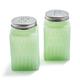 Jadeite Salt and Pepper Shakers