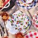 Strawberry Melamine Dinner Plate