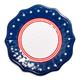 Stars & Stripes Melamine Dinner Plate