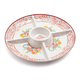 Marisol Melamine Chip & Dip Platter