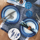 Oceana 12-Piece Melamine Dinnerware Set
