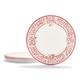 Marisol Melamine Dinner Plates, Set of 4