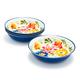 Flora Pasta Bowls, Set of 4