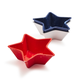 Star Melamine Dip Bowls, Set of 3