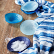 Glass Seashell Dishes, Set of 6