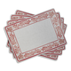 Marisol Cork-Backed Placemats, Set of 4