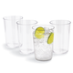 Outdoor Acrylic Glasses, Set of 4