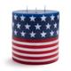 Flag Pillar Candle