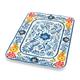 Flora Melamine Rectangular Platter