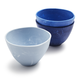Sea Glass Dip Bowls, Set of 3