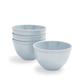 Pearl Melamine Cereal Bowls, Set of 4