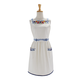 Embroidered Flora Apron, 32