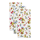 Berry Floursack Kitchen Towels, Set of 3
