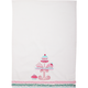Pink Cupcake Vintage-Inspired Kitchen Towel