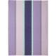 Lavender Bold Stripe Towel