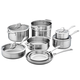 Zwilling Spirit Stainless Steel 12-Piece Cookware Set