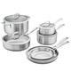 Zwilling Spirit Stainless Steel 10-Piece Cookware Set