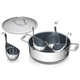 Zwilling Spirit Ceramic 6-Piece Nonstick Breakfast Pan and Egg Poaching Set