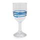 Blue Ring Wine Glass, 13.5 oz.