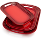 Le Creuset® Cherry Serving Platters, Set of Three