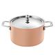 Scanpan Maitre d' Induction Copper Dutch Oven, 3.7 qt.