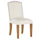 Delphine Dining Chair, Walnut Leg Finish