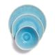 Reactive Glaze Stoneware 12-Piece Dinnerware Set