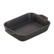Staub Rustic Ceramic Bakers, Matte Black