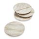 Beige Marble Coasters, Set of 4