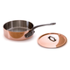 Mauviel® M'heritage 250c Covered Sauté Pans