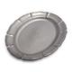 Baroque Pewter Oval Platter, 20