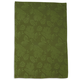 Green Leaf Jacquard Kitchen Towel, 28