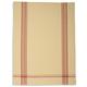 Red Provençal Stripe Kitchen Towel